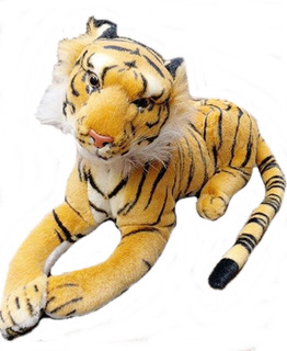 Tigre De Peluche Marron