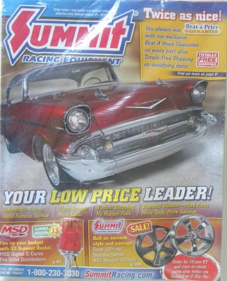 Revista Catalogo Summit Racing ( Sem Uso) Ago 2012