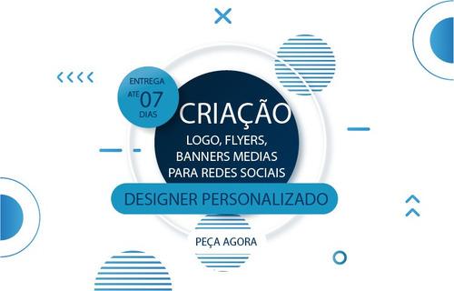 Criação De Logos, Banners, Flyer, Mídias Digitais.