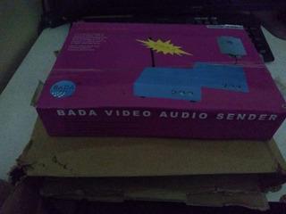 Bada 2.4ghz 3w Wireless Audio Video Transmisor Av Receptor