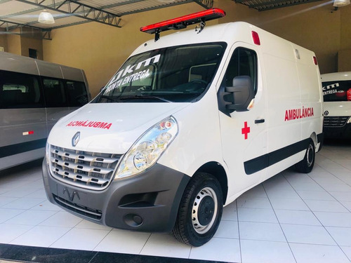 Renault Master 0km 21 Ambulância Uti