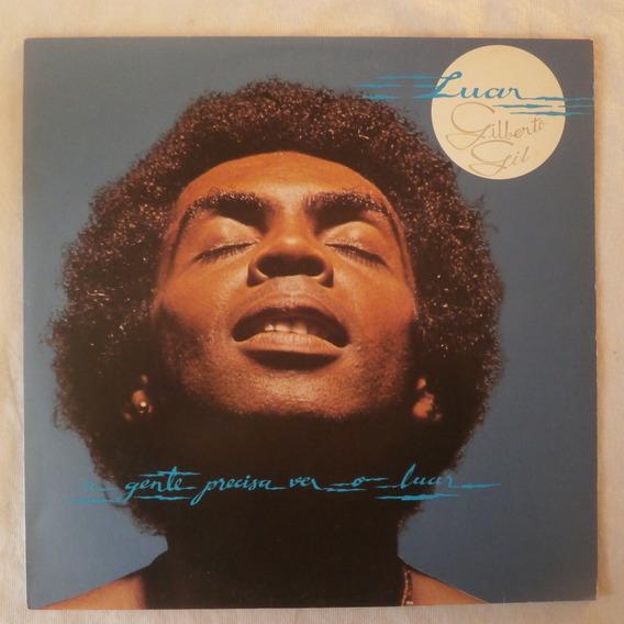 Lp Gilberto Gil 1981 Luar, Disco Vinil Seminovo Com Encarte