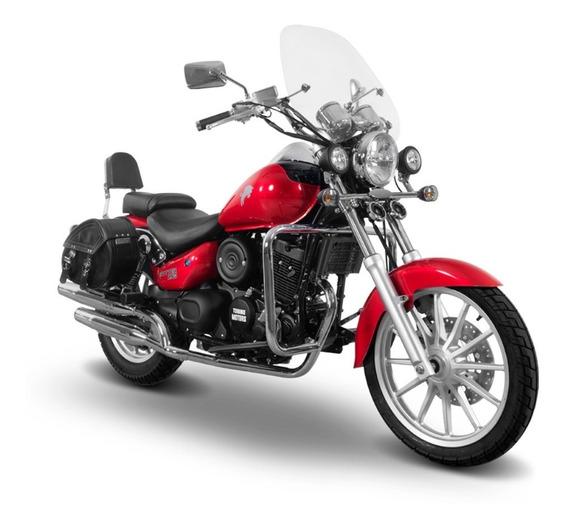 Motocicleta Torino Motors Trotter 250 Rojo