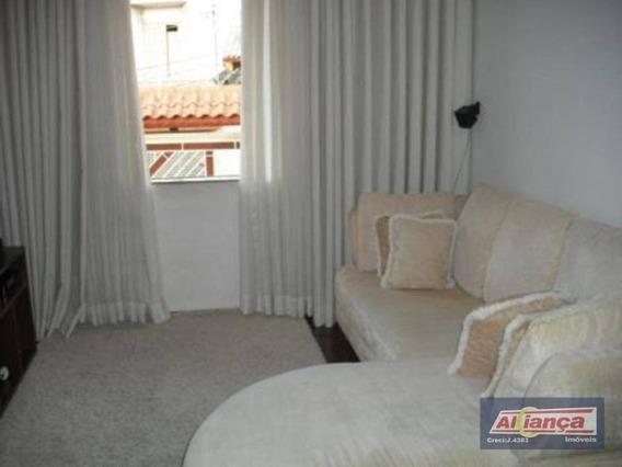 Sobrado Com 4 Dormitórios Para Alugar, 307 M² Por R$ 3.000,00/mês - Vila Rosália - Guarulhos/sp - So2442