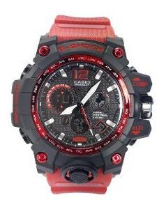 Relógio G-shock Preto /vermelho C/caixa