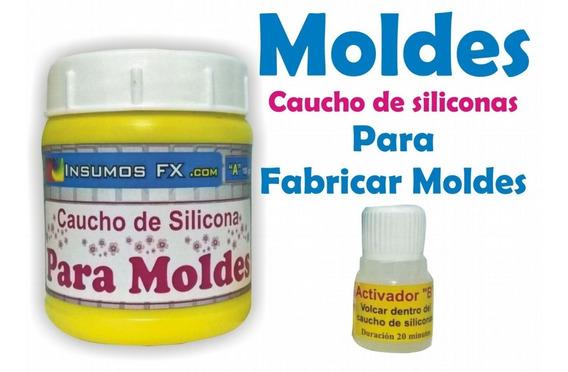 Combo Resina Cristal Poliester + Silicona Para Hacer Moldes