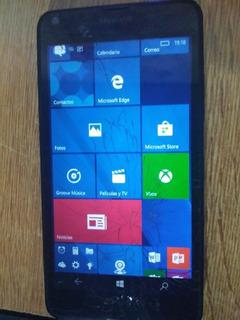 Celular Microsoft Lumia Pantalla Astillada Pero Anda Bien