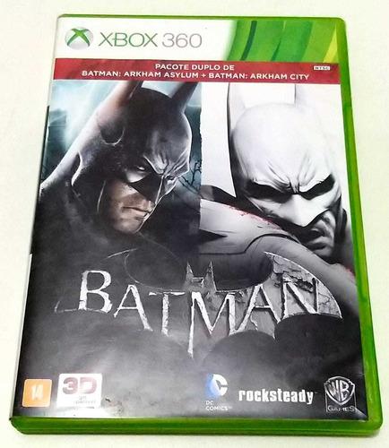 Batman Arkham City + Batman Arkham Asylum Xbox 360