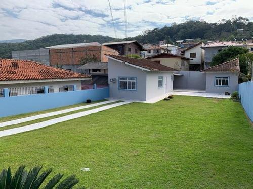 Casa Com 1 Dormitório À Venda, 80 M² Por R$ 308.000,00 - Jardim Janaina - Biguaçu/sc - Ca3564