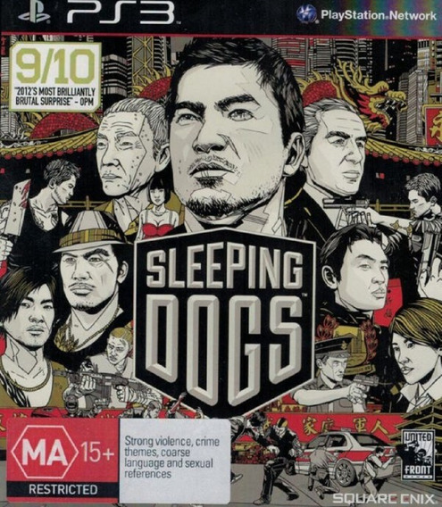 Kit Sleeping Dogs + Hitman Absolution Ps3 Artgames Digitais
