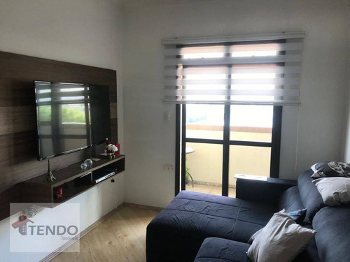 Imagem 1 de 22 de Imob01 - Apartamento 88 M² - 2 Dormitórios - 1 Suíte - Vila Mussolini - São Bernardo Do Campo/sp - Ap1369