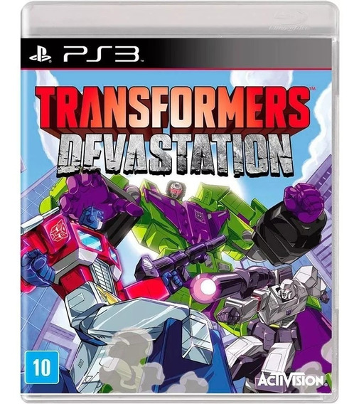 Game Ps3 Transformers Devastation - Original - Novo Lacrado