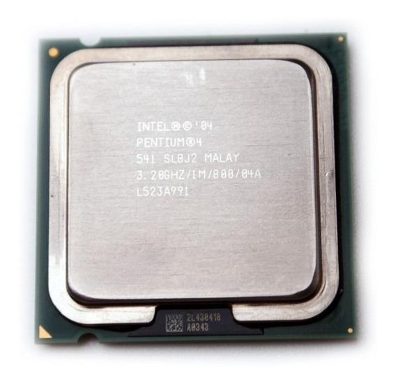 Processador Intel Pentium 4 541 3.2ghz Lga 775 Ht 1mb 800fsb