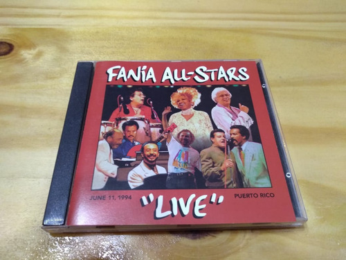 Live - Fania All-stars - Bmg, 1995 - Cd - U