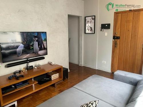 Imagem 1 de 15 de Apartamento 1 Dormitório Mobiliado  Vista Livre No Bairro José Menino - 2454