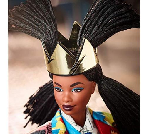 Barbie Coleccionista Jean-michel Basquiat X Muñeca Con Tren