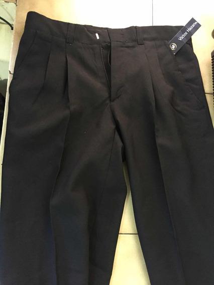 Pantalon De Vestir Negro Niño Hombre