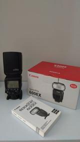 Flash Canon Original 600ex - Usado Em Perfeito Funcionamento