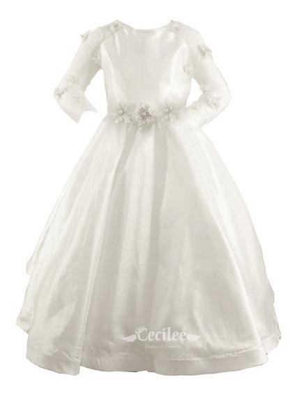 Hermoso Vestido Elegante De Ceremonia Niña Irais