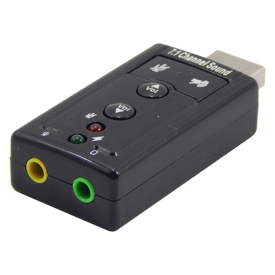 Kit 2 Adaptador De Áudio Usb Para P2 - Frete Gratis