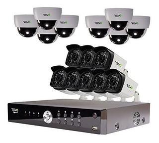 Sistema De Seguridad De Video Revo America Aero Hd 1080p 16