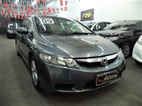 Honda Civic Lxs 1.8 16v Flex Aut 2009 Completo + Couro + Mp3