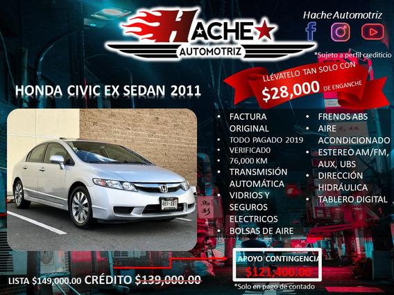 Honda Civic D Ex Sedan At 2011