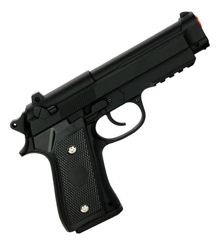 Imagem 1 de 2 de Pistola Tipo 1911 Airsoft Spring Beretta M92 Rossi Bb's 6mm