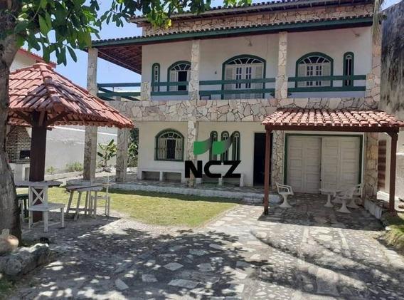 Casa 4 Quartos, Condomínio Fechado, Praia De Ipitanga 580.000,00 - Ca3039