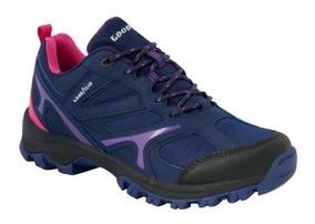 Zapato Hiker Goodyear 85wd Azul Comodo 100% Original 181229