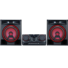 Mini System Lg Ck56 620w Bluetooth Karaokê Com Leds Cd Dvd