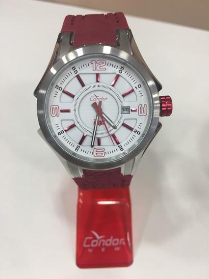 Relógio De Pulso Condor Fight! Ko4044309 Vermelho Masculino