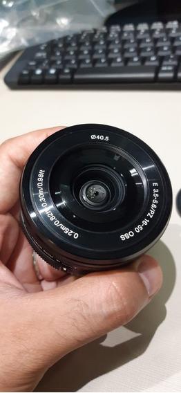 Lente Sony 16-50mm Oss E-mount