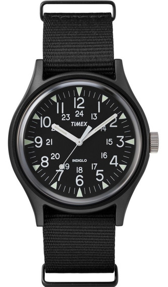 Reloj Timex Camper Tw2r37400 Aluminum Negro Para Caballero