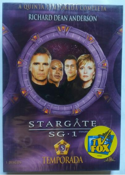 Box Stargate Sg 1 - 5ª Temporada Completa (5 Dvds) Legendado