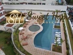 Apartamento Em Alphaville Com 3 Dormitórios-1 Suite- 2 Vagas - Sh1020
