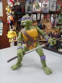 Donatello. Tortugas Ninja. Super Articuladas 18 Cm. Loose