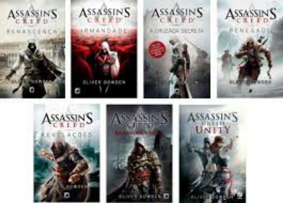 Coleçao Livros Assassins Creed Via Email.