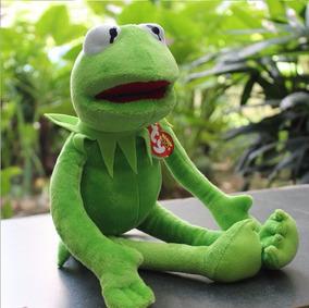 Pelúcia Linda Kermit Os Muppets - Caco O Sapo 42 Cm