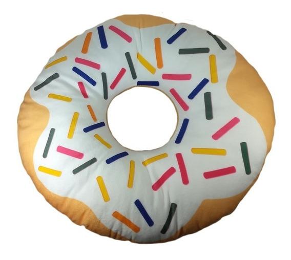 Almofada Pelúcia Donut Rosquinha Docinho 35cm