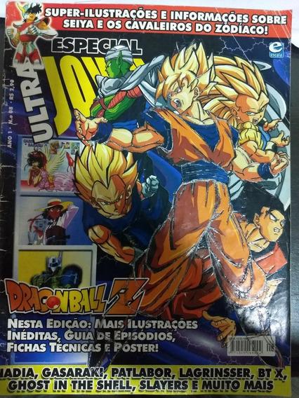 Revista Ultra Jovem Edição Especial Ano 1 N° 08 Com Poster