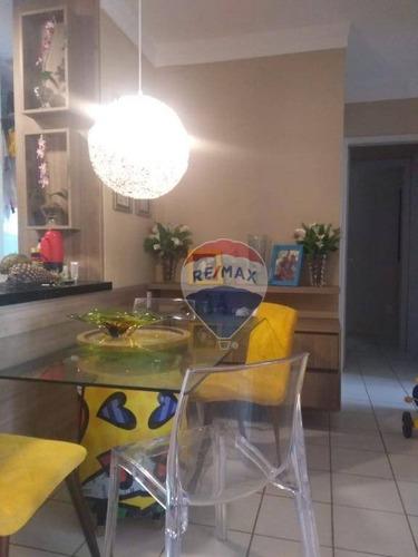 Apartamento Com 3 Dormitórios À Venda, Piazza Di Napoli Cuiabá/mt - Ap1045