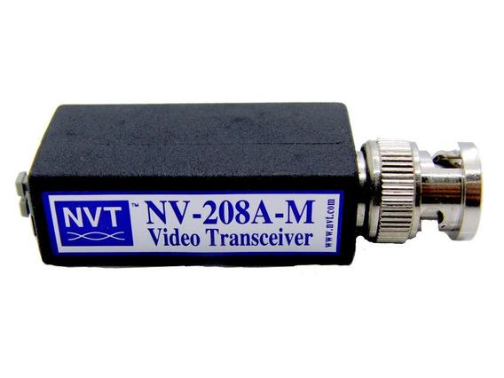 Transmissor Sinal De Video Cftv Nvt Nv-208a-m Ate 225 Metros