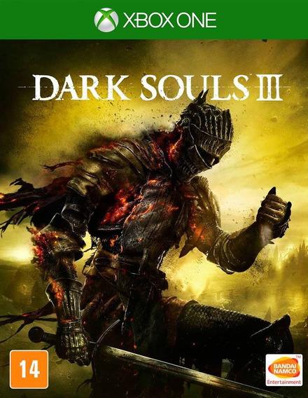 Dark Souls 3 Iii Xbox One - 25 Dígitos (envio Já)