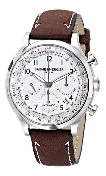 Relógio Baume And Mercier Capeland Chronograph White 10000