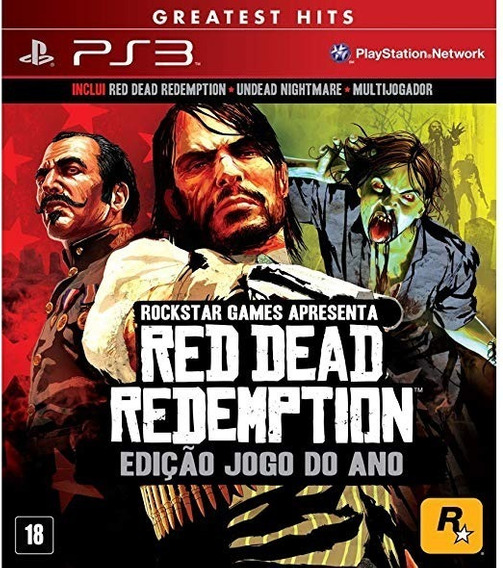 Read Dead Redemption Goty Ps3 - Midia Digital