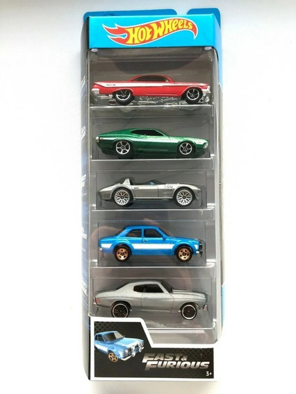 Pack X5 Autos Hot Wheels Surtidos Original - Sharif Express