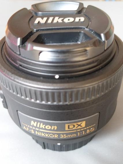Lente Nikon Dx - Af-s Nikkor 35mm 1:1.8g