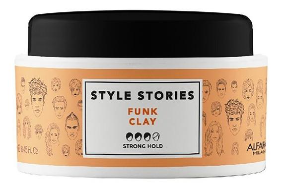 Cera Pasta Capilar Funk Clay Style Stories Alfaparf X 100gr