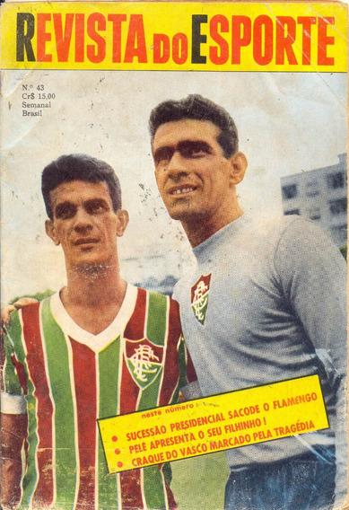 Revista Do Esporte Nº 43 - 2.01.60 - Pôster Do Fluminense 59
